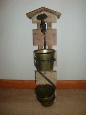 "New Garden Water Tap/Faucet Theme Planter With 2) 4"" pots-indoor/outdoor-(D)"