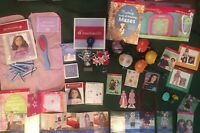 American Girl Doll Molly Kit Emily Julie Pets Party Jewelry Hair Nails Huge Lot