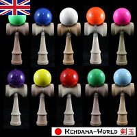 Dragon Kendama Solid Edition Full Size Beech Wood Skill Toy CHOICE OF 12 COLOURS