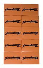"""10 Pack Oversized 1/0 AWG 0 Gauge 3/4"""" Diameter Heat Shrinks ORANGE"""
