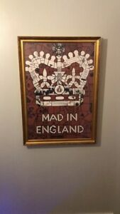 Mad In England Carrie Reichardt Print Large 20x30 Inch