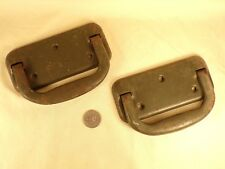 Pair Vintage / Antique Chest or Tool Box Handles
