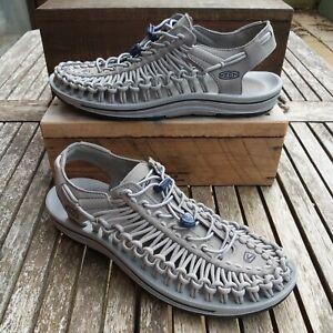 KEEN Uneek Men's Walking Sandals, Comfort Hiking Shoes, Size 9.5, Grey, RRP £90