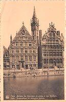 Br36110 Gend Gand Maisons des Messeures de grains et des Bateliers      Belgium