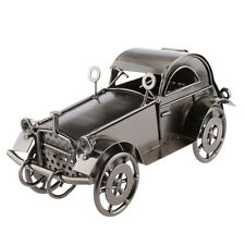 Precision Iron Vintage Car Model Diecast Vehicle for Toy Collection Black