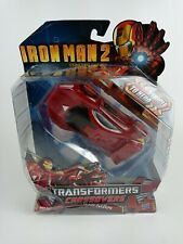 NEW TRANSFORMERS CROSSOVERS IRON MAN (CAR, REDECO)