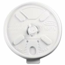 Dart Lift-n-Lock Coffee Cup White Lids (10ftl)