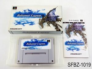 Complete Bahamut Lagoon Super Famicom Japanese Import JP SFC Japan J US Seller