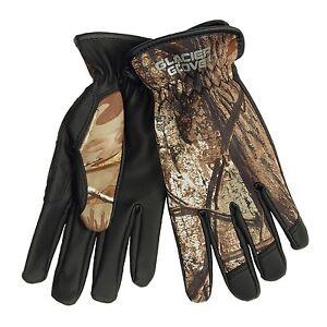Glacier Glove Lightweight Realtree Xtra Camo Hunting Gloves - Neoprene / Nylon