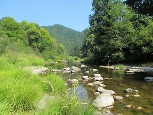 Oregon Placer Gold Mine Smith River Mining Claim Creek Panning Sluice