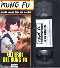 Gli Eroi del Kung Fu (1977) - VHS Fabbri editori Video -  Kung Fu