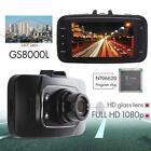 """GS8000L 2.7"""" Full HDMI 1080P Car DVR Camera Video Recorder Dash Cam G-sensor AD"""