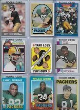 Green Bay Packers Vintage Lot (40) w/ Rookies Lofton Starr Nitschke Favre Sharpe