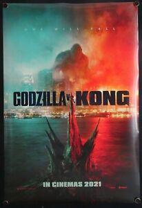 Godzilla vs Kong (2021) International One Sheet
