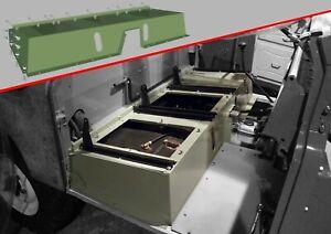 Land Rover Series 2 2A 3 - Original Seat box Bolts Fixing Kit Set - Seatbox