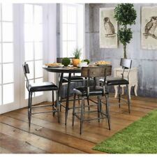 Bowery Hill Round Counter Height Dining Table