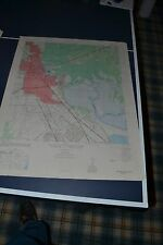 1940's Army topo map Beaumont East Texas Sheet 7144 II SE