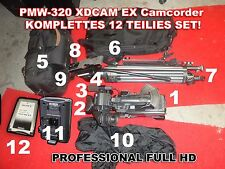 Pmw-320 XDCAM EX, Full HD Camcorder, Sony Professional, HD SDI, HDMI broadcast