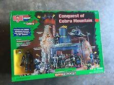2003 Hasbro GI Joe SpyTroops Conquest of Cobra Mountain Playset