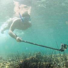 Teleskop Wasserdichte Selfie-Stick Einbeinstativ mit Tripod Adapter für GoPro