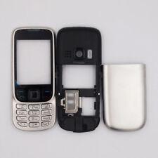 For Nokia 6303 New Metal housing Bezel Housing cover case keypad Silver