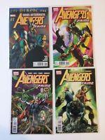 Near Complete Set Avengers Prime #1 2 3 4 Marvel Comics 2010 VF/NM