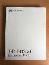 DR DOS 5 Benutzerhandbuch von Digital Research