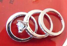 Solid 14K White Gold Man Made diamond 3.10ct Princess cut Engagement Ring 3 piec