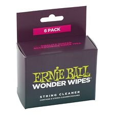 Ernie Ball 4277 Wonder Wipes String Cleaner -  Ships FREE Lower 48 States