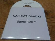 RAPHAEL SAADIQ - STONE ROLLIN' !!!! !!FRENCH CD PROMO!!!!