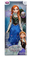 """EXCLUSIVE DISNEY STORE FROZEN PRINCESS ANNA 16 """" SINGING LIGHT-UP DOLL!"""