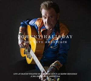 ♫ JOHNNY HALLYDAY - SON RÊVE AMÉRICAIN - COFFRET 3 CD + 2 DVD - 2020 - NEUF ♫