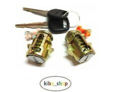FOR TOYOTA HILUX 1998 - 2001 NEW FRONT DOORS LOCK CYLINDERS WITH 2X KEYES SET