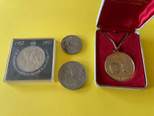 British Monarchy Collection - Coins, Medal, Silver jubilee, Wedding. Nat West