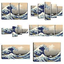 Quadri Moderni Hokusai La Grande Onda di kanagawa Quadro Stampa Su Tela canvas