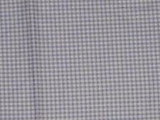 Vintage Lavender Printed Plaid Cotton Quilt Fabric 1 Yard