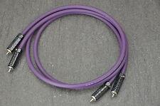 COPPIA cavo segnale audio - signal cable rame Silver plated OFC 1m