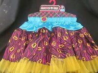 MONSTER HIGH - Clawdeen Wolf Skirt BRAND NEW