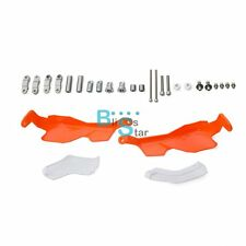 Orange & White Pro Handguards Brake Clutch Hand Guard For KTM 125 200 Duke EV