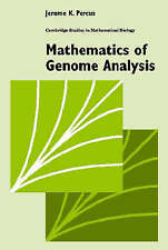 Mathematics of Genome Analysis (Cambridge Studies in Mathematical Biology) by P