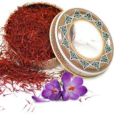 Saffron All Red Organic Saffron Premium Quality Super Negin 0.162 oz 4.6 grams