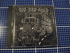 BIG RED GOAD Truck Drivin' Psycho CD Hierarchy UK Jim Goad