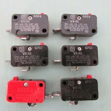 Micro Switch V3-32 Limit Switch Lot of 6!