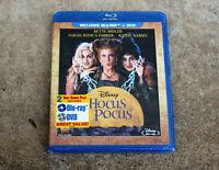 DISNEY HOCUS POCUS (BETTE MIDLER/SARAH JESSICA PARKER)  BLU-RAY + DVD BRAND NEW