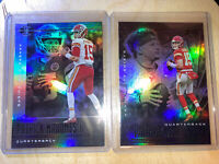 PATRICK MAHOMES 2018-2020 ILLUSIONS LOT Holo Foil Refractor Base Cards Chiefs!