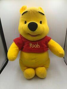 Fisher Price Winnie The Pooh 2003 Disney Bear Plush Kids Stuffed Toy Animal Doll