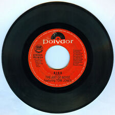 Philippines THE ART OF NOISE Featuring TOM JONES Kiss 45 rpm Record