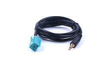AUX in Audio Headunit Input Cable Lead Adapter Renault Clio Megane
