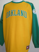 NIKE COOPERSTOWN  COLLECTION OAKLAND JERSEY SIZE  XL  VERY  NICE !!!!