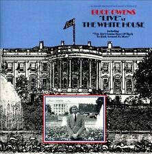 BUCK OWENS Live at the White house CD w/ 9 RARE TRX APOLLO 18 PROGRAM USA seller